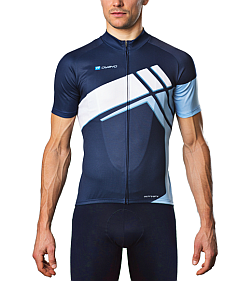 Example of a customised cycling jersey