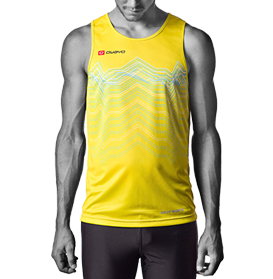 Example of a customised running jersey